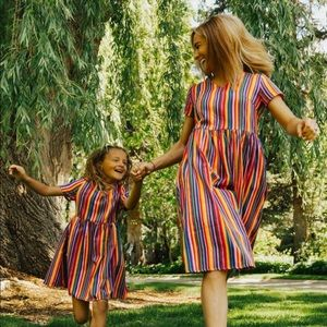 OVER THE RAINBOW MINI DRESS by Ivy City
